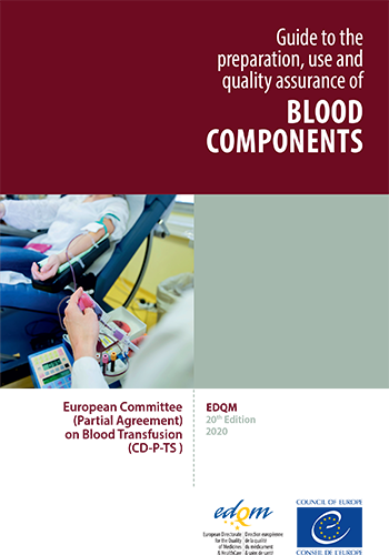 The 20th edition of the Guide to the preparation, use and quality assurance of blood components (2020)